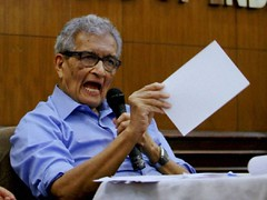 Amartya Sen terms general category reservation 'muddled thinking'; questions its political, economic impact