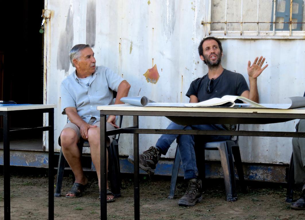 Matias Barutta - Proyecto Delta y Omar Fernandez - Asociacion Isleños Unidos II
