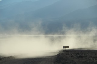 0987 Dust clouds from another driver on the West Side Road in Death Valley | by _JFR_