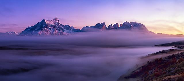 Greeting | Rio Serrano, Patagonia, Chile