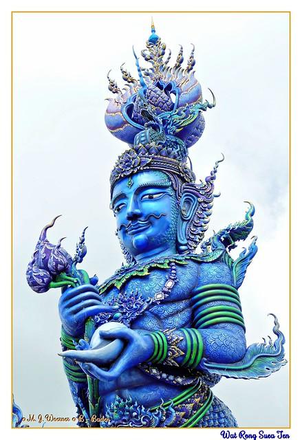 วัดร่องเสือเต้น  -  Wat Rong Suea Ten  02 / 21