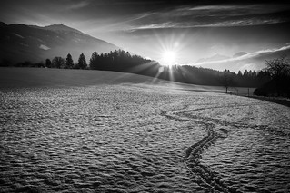 New Year's Day Sunset Patscherkofel | by eugene.erdozain