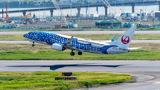 JA05RK | Boeing 737 | Japan Transocean Air | Tokyo Haneda | May 2018