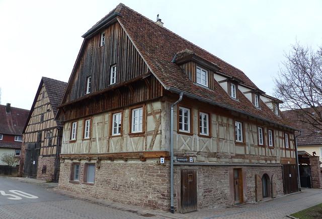 Häuser in Gräfenhausen