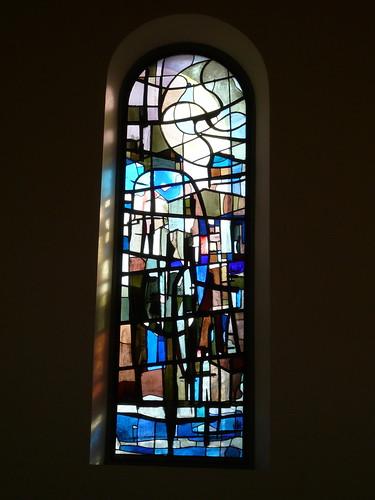 Kirchenfenster Kirche Bachs