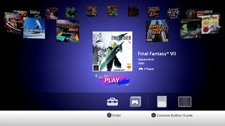 PlayStation Classic user interface | by PlayStation.Blog
