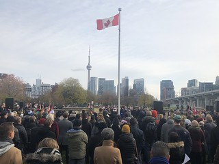 Remembrance Day ceremony at Fort York | by sillygwailo