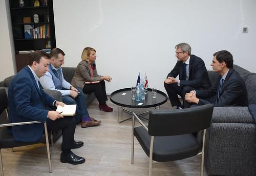 სახალხო დამცველი ევროკავშირის ელჩს შეხვდა 12.11.18 Public Defender Meet with EU Ambassador