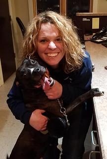 Wed, 01/02/2019 - 15:57 - Photograph of GCC Veterinary Technology program graduate, Jennifer Cummins