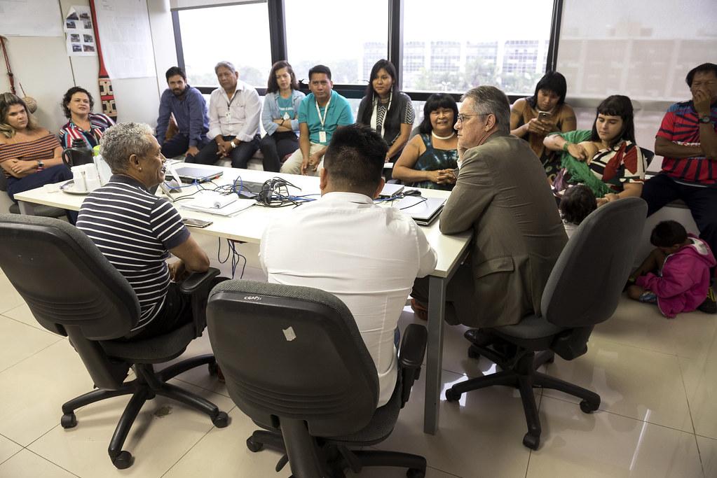 Reunião com a Pajé Mapulu Kamaiurá