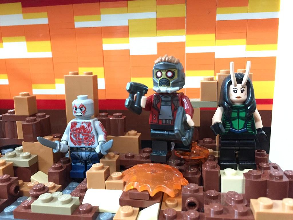 Lego Marvel Avengerinfinity War Moc Diorama Poster Flickr