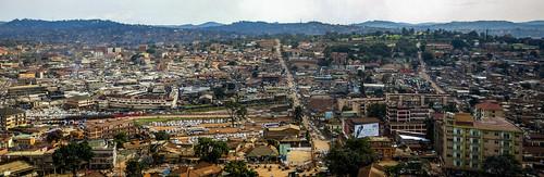 kampala uganda panorama ug