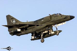 A-4K Skyhawk N146EM Draken International | by Ivan Voukadinov