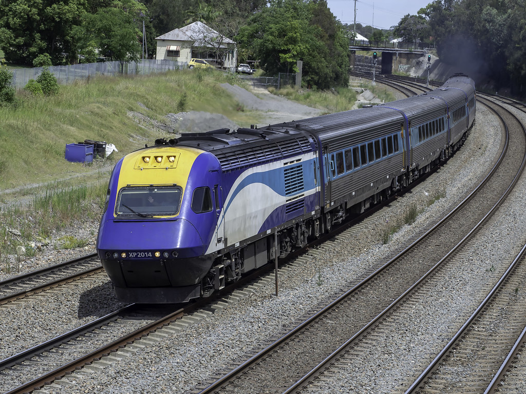 XPT XP2014 named City of Grafton as Transport NSW TrainLink NT35 service to Grafton on North Coast NSW by Paul Leader - Paulie's Time Off Photography