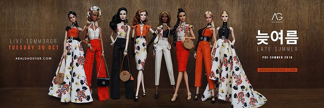 A new collection via ARALGHOSTIER.COM #fashionroyalty #nuface #integritytoys #itluxelife #fashiondoll #dolls #AralGhostier