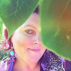 bright bohemian rose earrings