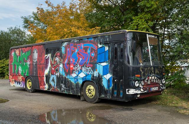 Dresden bus: Ikarus 260 # DD-EM 2644