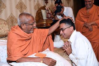 Std-10-11-12-visit-to-Haridham-for-Swamishree's-Blessings-(26) | by Atmiya Vidya Mandir