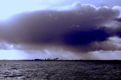 Approaching IJmuiden | by B-O-K