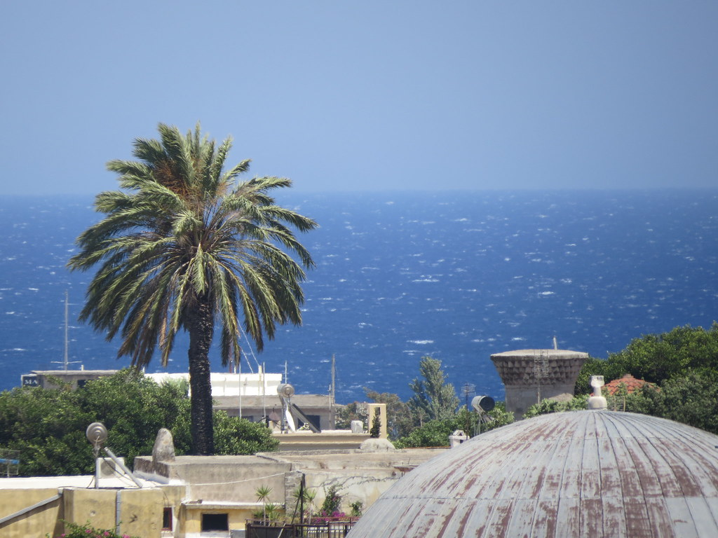 Родос - город контрастов. Набережная и гавани.