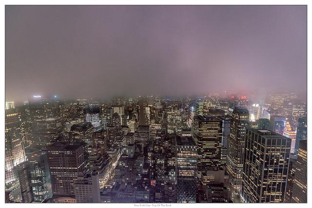 In the clouds... Manhattan