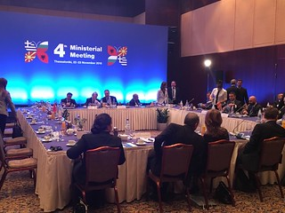Τέταρτη Υπουργική Συνάντηση Ελλάδας, Αλβανίας, Βουλγαρίας και πρώην Γιουγκοσλαβικής Δημοκρατίας της Μακεδονίας (Θεσσαλονίκη, 22-23.11.2018)