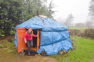 Glamping in Yurt - Peak District near Buxton DSC_2370 | by www.beckythetraveller.com