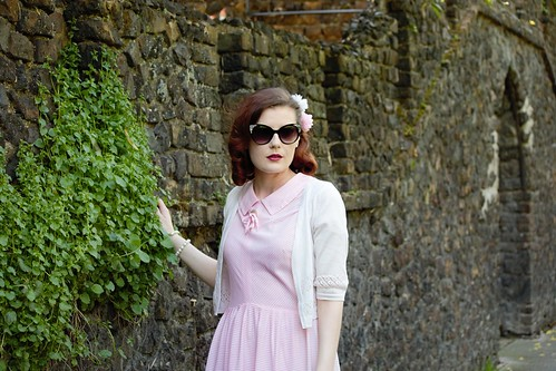Pink 1950s Dress | by helenmaegreen