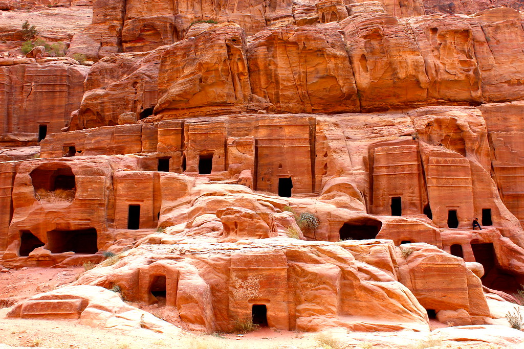 Image result for the caves of petra