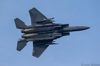 F-15E Strike Eagle 91-0335 - 494th Fighter Squadron RAF Lakenheath   by stu norris