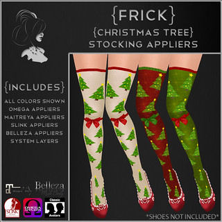 {Frick} Christmas Tree Stocking Appliers | by {Frick}