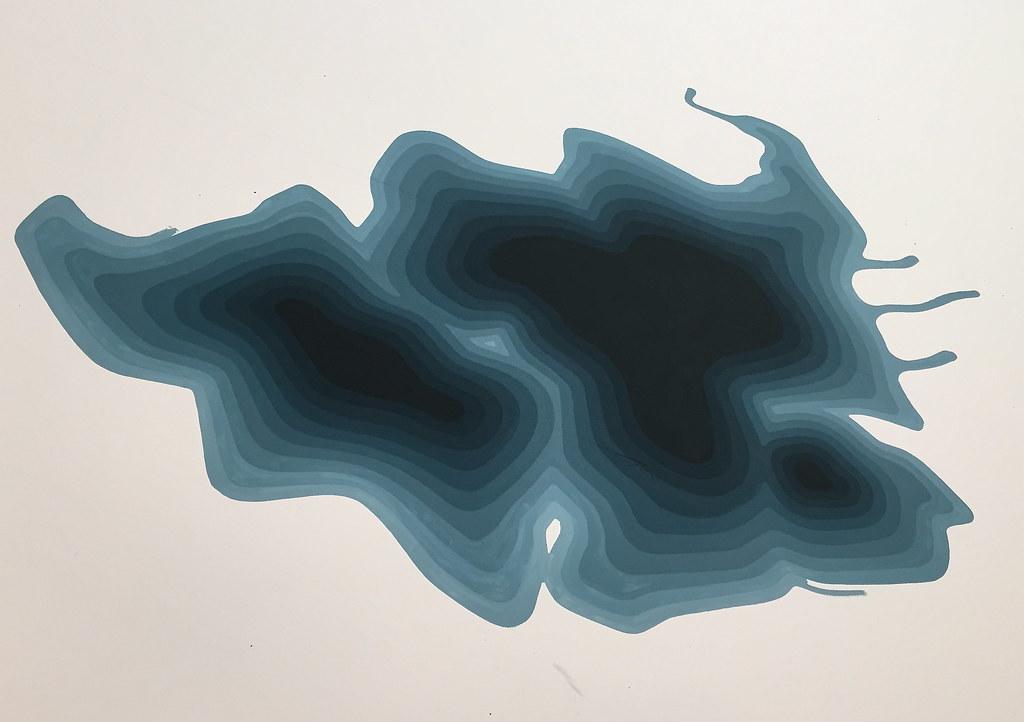 Ole Jørgen Ness: 'Flat Acrylic'