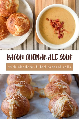 Bacon Cheddar Ale Soup | by Smells Like Home