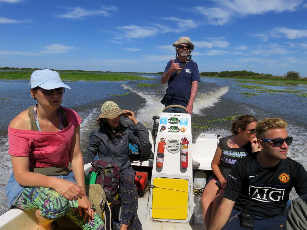 Navegando la laguna