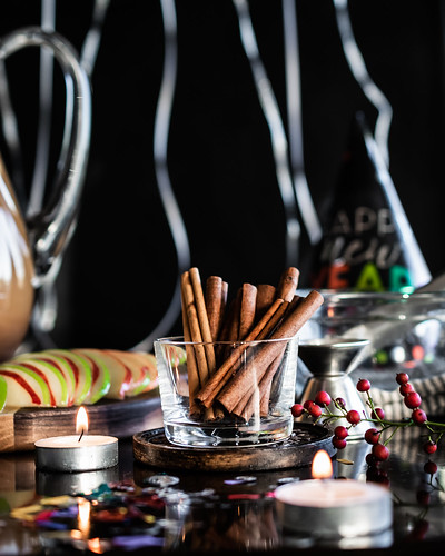 cinnamon sticks are pretty garnish, and they fill the bar area with their fragrant aroma | by Husbands That Cook
