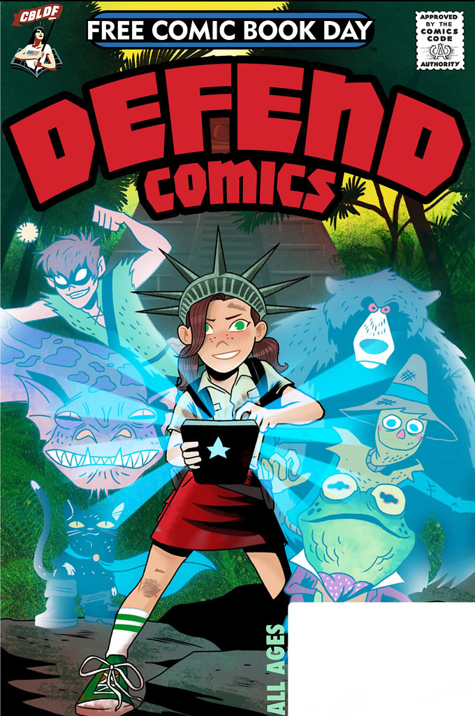 Free Comic Book Day 2019 Educational Support Titles
