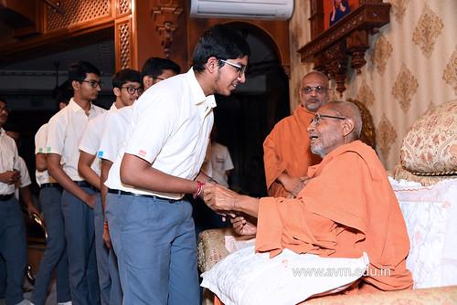 Std-10-11-12-visit-to-Haridham-for-Swamishree's-Blessings-(79) | by Atmiya Vidya Mandir