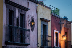 Houses at San Miguel de Allende, Mexico