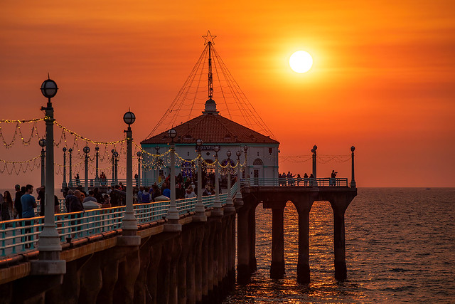 MB pier Sunset 200mm