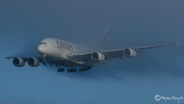 Emirates, Airbus A380-842, A6-EVB, 162, Januar 2019
