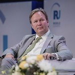 Jørn Madslien during Plenary session 2 at IRU World Congress in Muscat, Oman