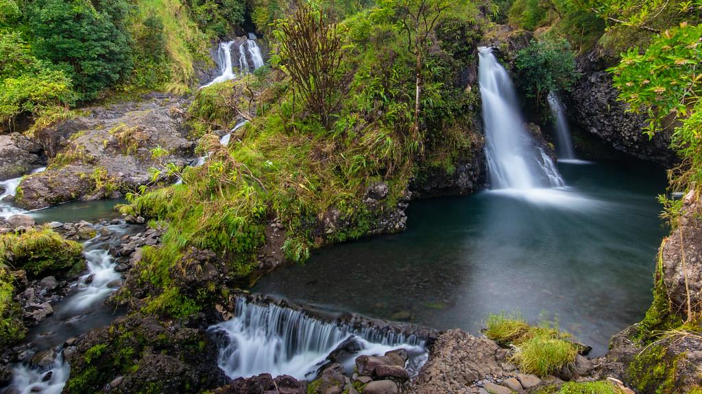 Upper Hanawi Falls, Road to Hana, Maui   The road to Hana pa…   Flickr