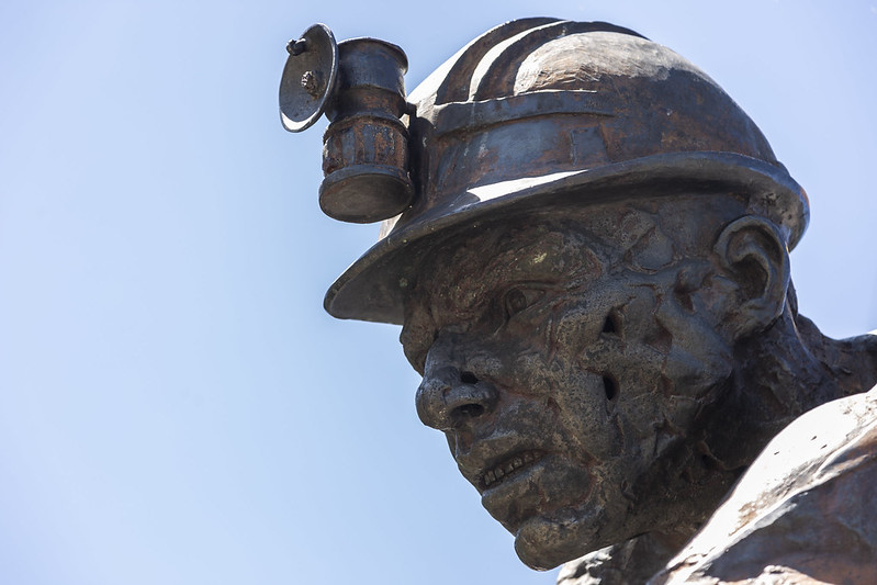 statue in zipaquira