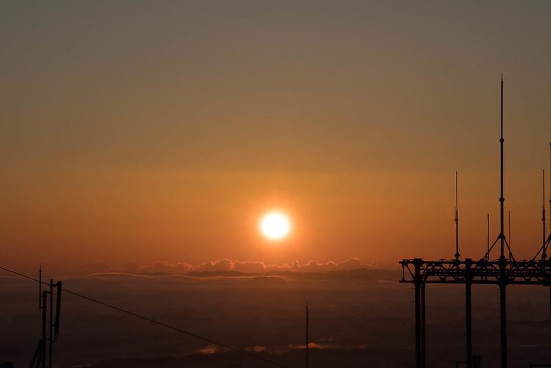 羽黒山の初日の出