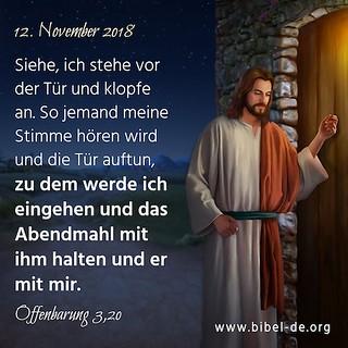 Offenbarung 3,20