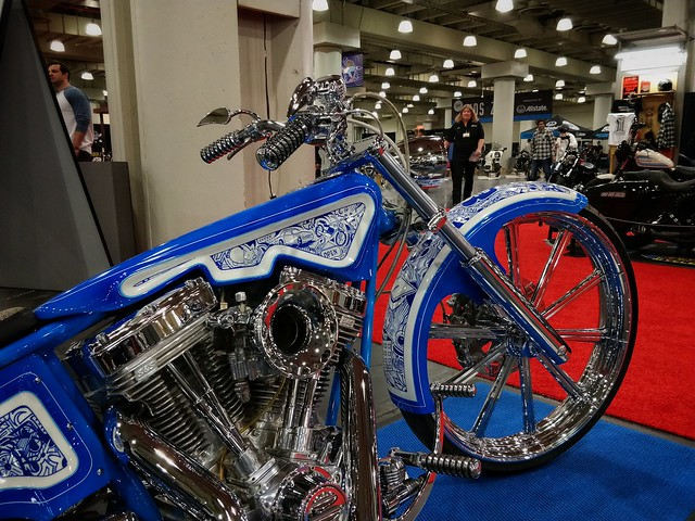 International Motorcycle Show in NYC 2018 at Jacob Javits Convention center