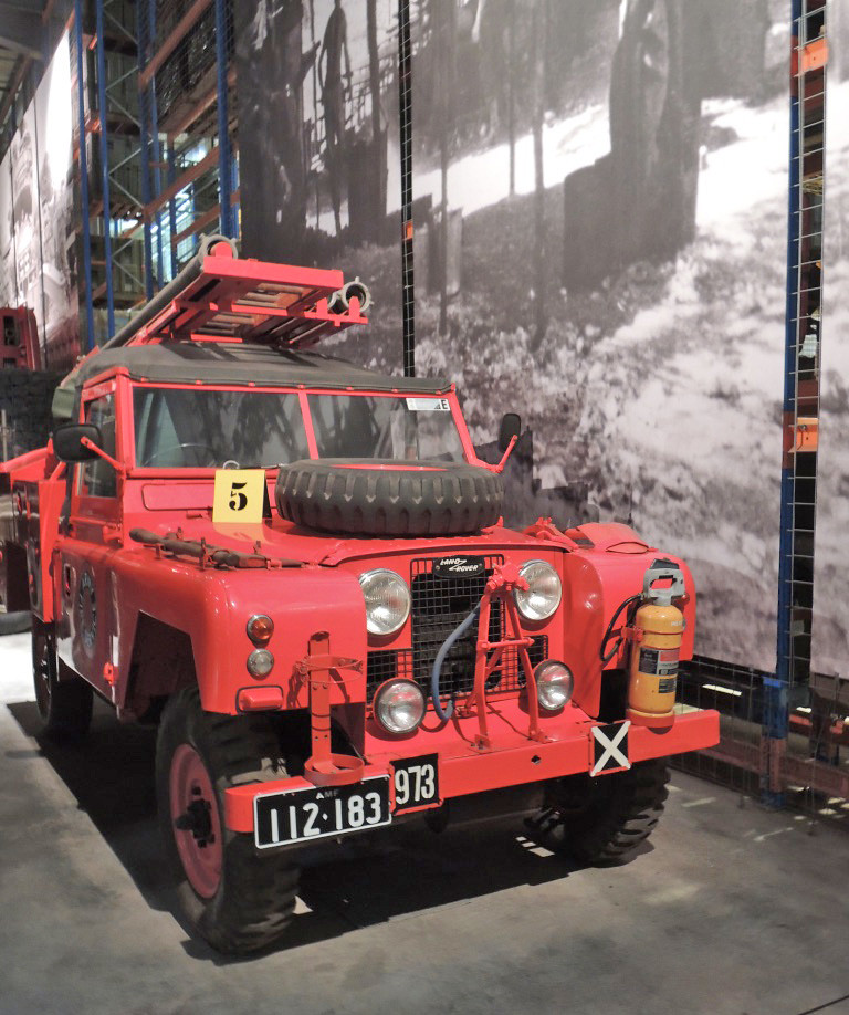 Land Rover Series 2 Fire Engine Holsworthy 13-11-2018