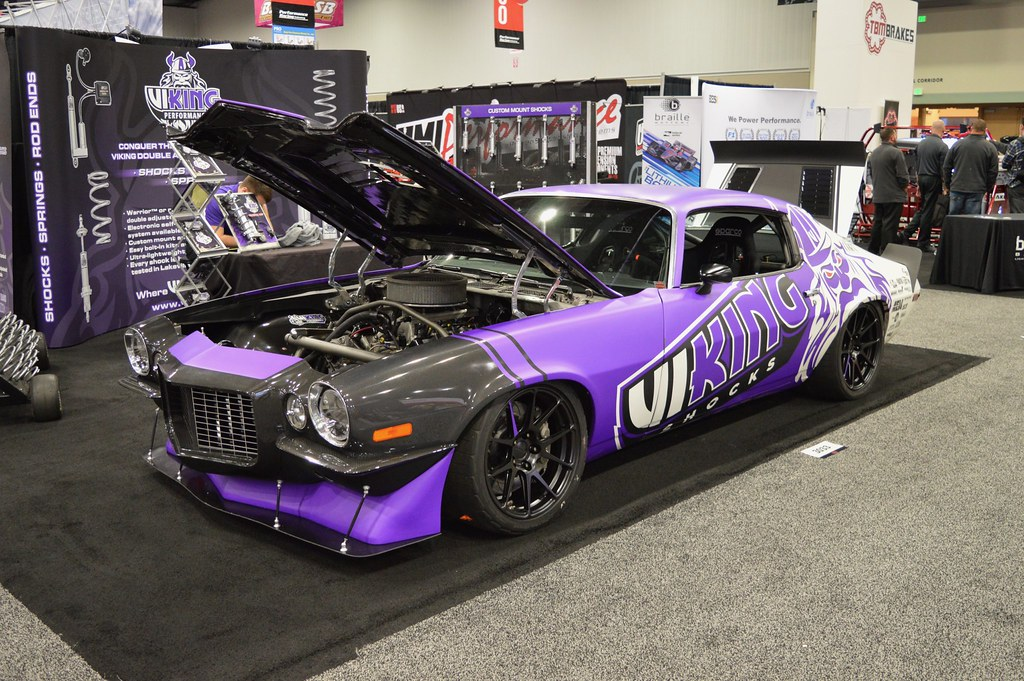 Viking Performance '71 Camaro on Forgeline One Piece Forge… | Flickr