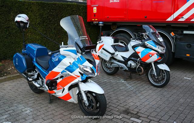 Dutch emergency motorcycles
