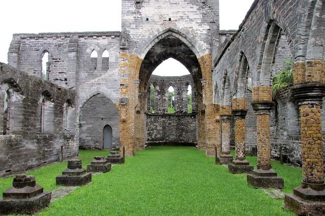 Bermuda Unfinished Church